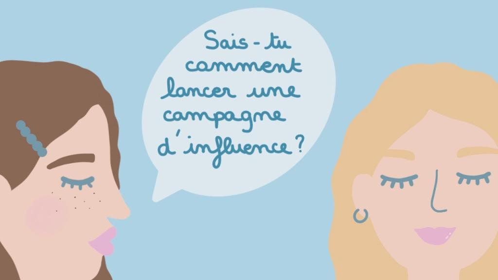 Marketing d'influence les 4 étapes pour lancer une campagne d'influence
